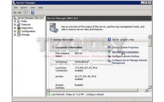 Membuat Domain Controller di Windows Server 2008