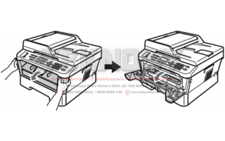 Reset Drum Error pada Printer Brother DCP-7055