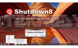 Software Auto Shutdown Dengan Timer