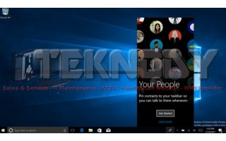 Menghilangkan Icon People Tidak Penting Di Windows 10