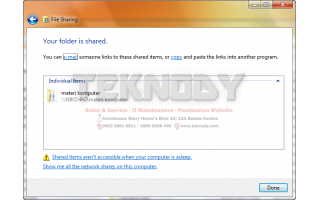Sharing File/Folder Dan Drive Di Windows (7, 8, dan 8.1)
