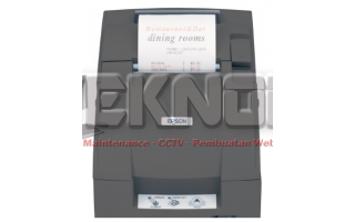 Epson Receipt Printer TM-U220PD Dengan USB to Paralel Adapter