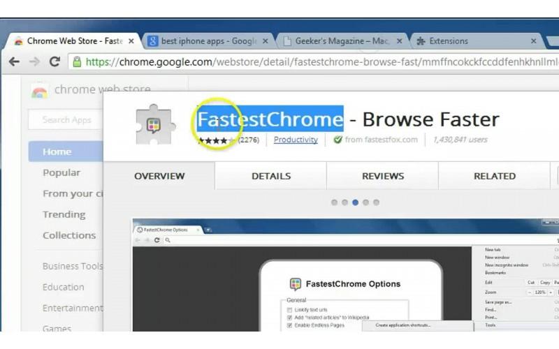Chrome Extension Untuk Mempercepat Browsing
